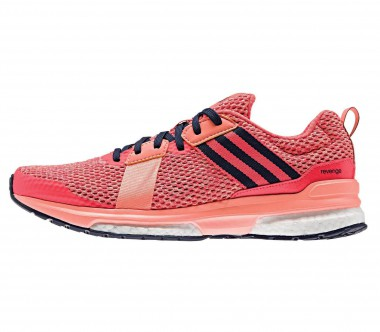 Adidas - Revenge Boost Mesh women's running shoes (red)