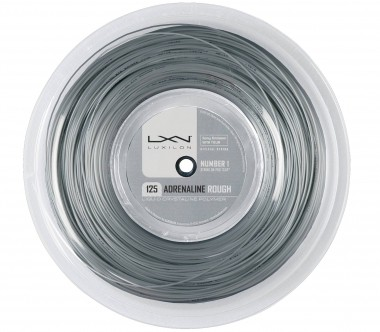 Luxilon - Adrenaline Rough - 200m - Tennis - Tennis Strings - Polyesterg