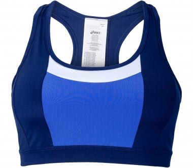 Asics - Color Block women's training bra (blue)