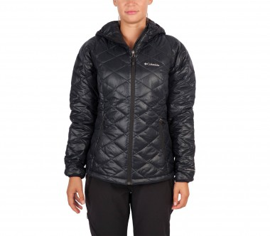 Columbia - Trask Mountain 650 Turbodown Hooded women's down jacket (black)