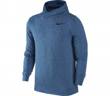 Nike - Breathe men's training hoodie (blue)