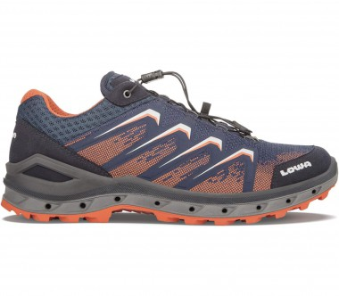 Lowa - Aerox GTX LO men's hiking shoes (blue/orange)
