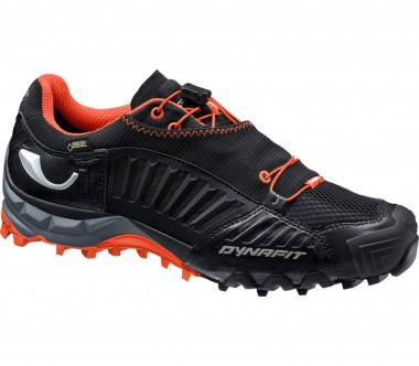 Dynafit - Feline Gore-Tex men's trail running shoes (black/orange)
