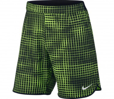 Nike - 9 Inch Gladiator men's tennis shorts (light yellow/black)