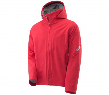 Head - Sestriere men's shell jacket (red/grey)