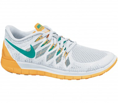 Nike - Free 5.0 women's running shoes (white/orange)