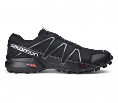 Salomon - Speedcross 4 men's running shoes (black/silver)