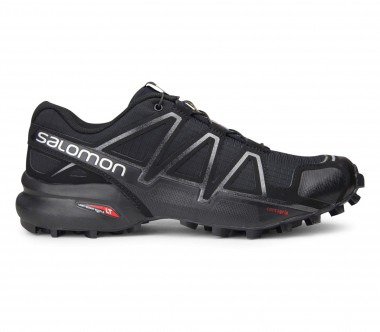 Salomon - Speedcross 4 women's running shoes (black/silver)