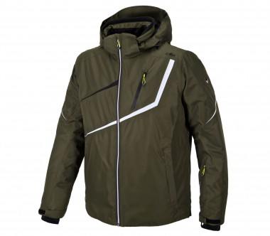 CMP - Twill Zip Hoody men's ski jacket (dark green)