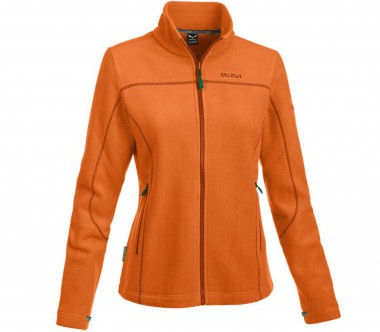 Salewa - Buffalo 4 Full-Zip women's Power-Stretch fleece jacket (orange)