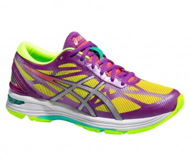 Asics - Gel-DS Trainer 20 NC women's running shoes (yellow/purple)