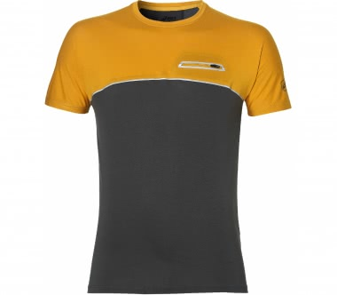 Asics - FuzeX men's running top (grey/orange)