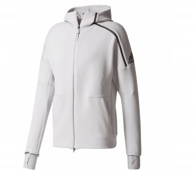 Adidas - Z.N.E. Hood2 Pulse men's training hoodie (grey)