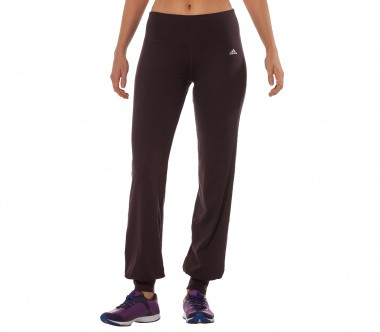 Adidas - Studio Pure Classic women's training pants (dark red)
