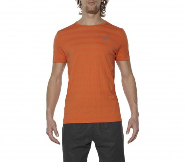 Asics - FuzeX Seamless men's running top (orange)