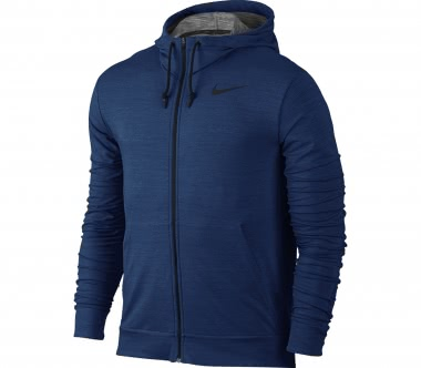 Nike - Dry Full-Zip men's training hoodie (blue)