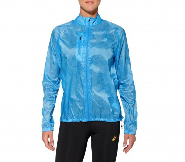 Asics - Lightweight women's running jacket (blue)