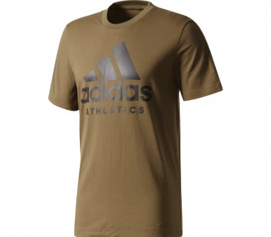 Adidas - Sport ID Branded men's training top (dark green)