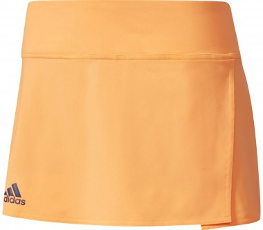 Adidas - Melbourne Line women's tennis skirt (orange)