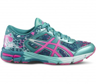 Asics - Gel-Noosa Tri 11 GS Children running shoes (blue/pink)