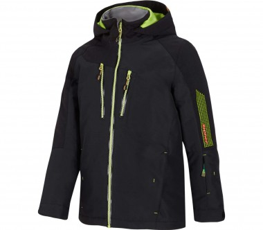 Ziener - Antoso Children skis jacket (black/green)