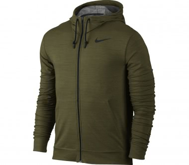 Nike - Dry Full-Zip men's training hoodie (brown)