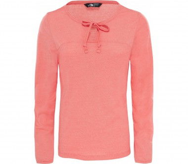 The North Face - Dayspring long-sleeved women's functional top (light red)