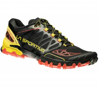 La Sportiva - Bushido men's trail running shoes (black/yellow)