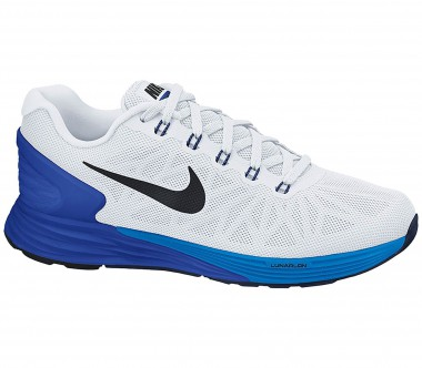 Nike - Lunarglide 6 men's running shoes (white//blue)