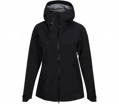 Peak Performance - Mondo women's outdoor jacket (black)