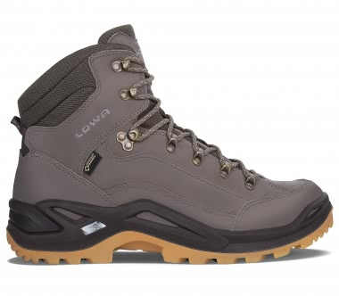 Lowa - Renegade GTX® Mid men's hiking shoes (grey/dark brown)