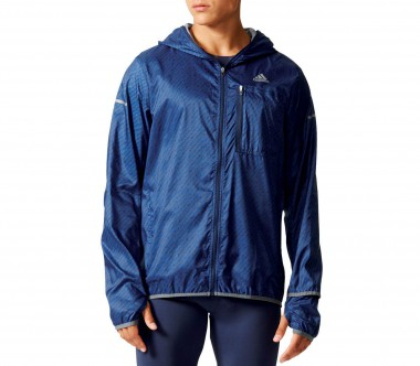 Adidas - Kanoi Graphic men's running jacket (dark blue)