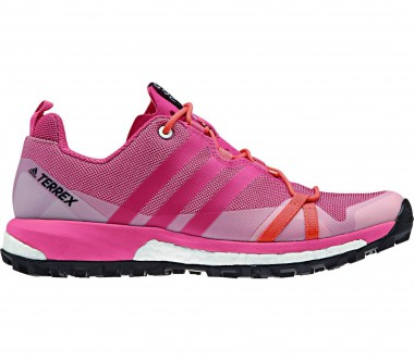 Adidas - Terrex Agravic women's mountain running shoes (pink/orange)