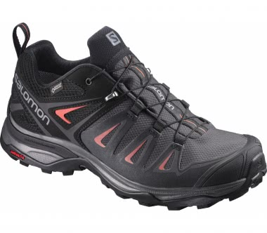 Salomon - X Ultra 3 GTX® women's hiking shoes (black/red)