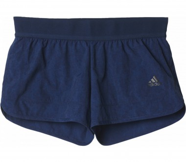 Adidas - Moonwash Woven women's training shorts (dark blue)