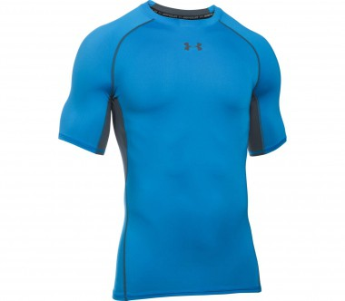 Under Armour - Heatgear Armour Shortsleeve men's compression top (blue/grey)