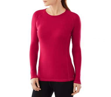 SmartWool - NTS Light 200 Crew women's merino long-sleeved top (red)