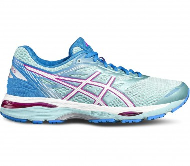 Asics - Gel-Cumulus 18 women's running shoes (blue/pink)