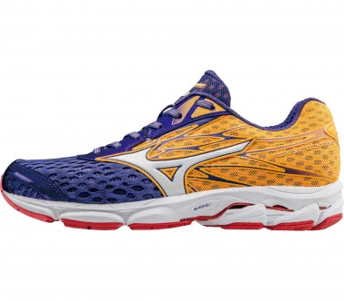 Mizuno - Wave Catalyst women's running shoes (orange/purple)