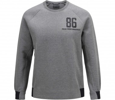 Peak Performance - Tech Crew men's sweatshirt (grey)