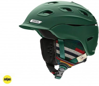 Smith - Vantage M MIPS ski helmet (dark green)