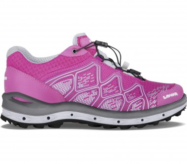 Lowa - Aerox GTX LO women's hiking shoes (pink/silver)