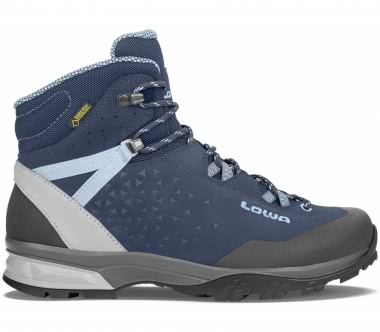 Lowa - Sassa GTX® Mid women's trekking shoe (dark blue/light blue)