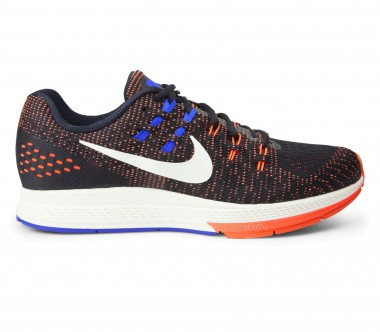Nike - Air Zoom Structure 19 men's running shoes (black/orange)
