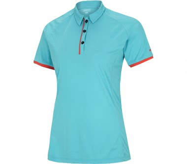 Ziener - Candelaria women's polo top (light blue)