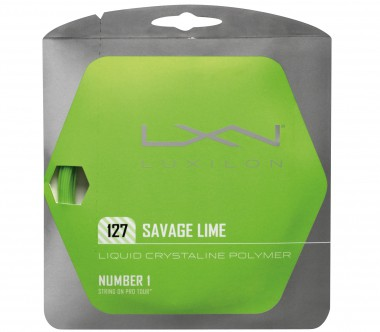 Luxilon - Savage Lime 12,2m (1,27mm) - Tennis - Tennis Strings