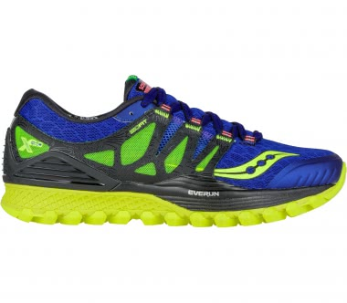 Saucony - Xodus ISO men's running shoes (blue-yellow)