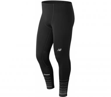 New Balance - Impact Tight Print men's running pants (black)