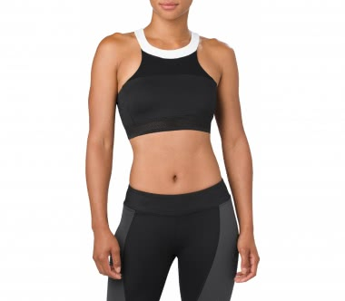 ASICS - Halterneck women's training bra (black)