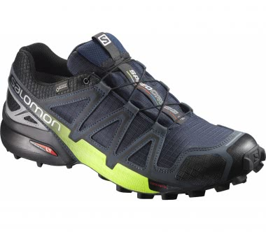 Salomon - Speedcross 4 Nocturne GTX® men's running shoes (black/yellow)